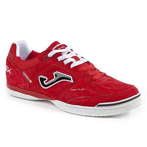 Joma - Zapatillas de fútbol sala de Piel para hombre rojo rojo