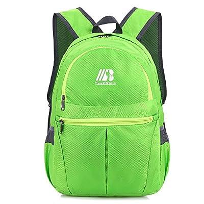 hongrun Ultra légère à superposition double outdoor sports voyage sac à bandoulière double multi-usages de grande capacité sac à bandoulière double camping