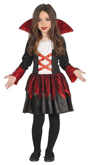 Disfraz de Baronesa Vampiresa para niña: Amazon.es: Juguetes y juegos