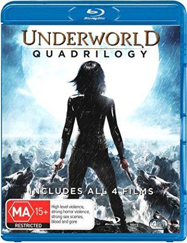 Underworld Quadrilogy [Underworld + Underworld - Evolution + Underworld - Rise of the Lycans + Underworld - Awakening] [NON-USA Format / Region B Import - Australia]