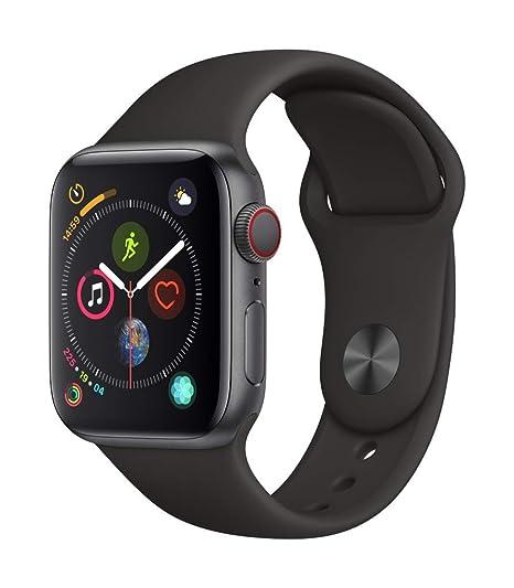 0430f1dfafbbf Apple Watch Series 4 Reloj Inteligente Gris OLED Móvil GPS (satélite) -  Relojes Inteligentes. Pasa el mouse encima de la imagen para aplicar zoom