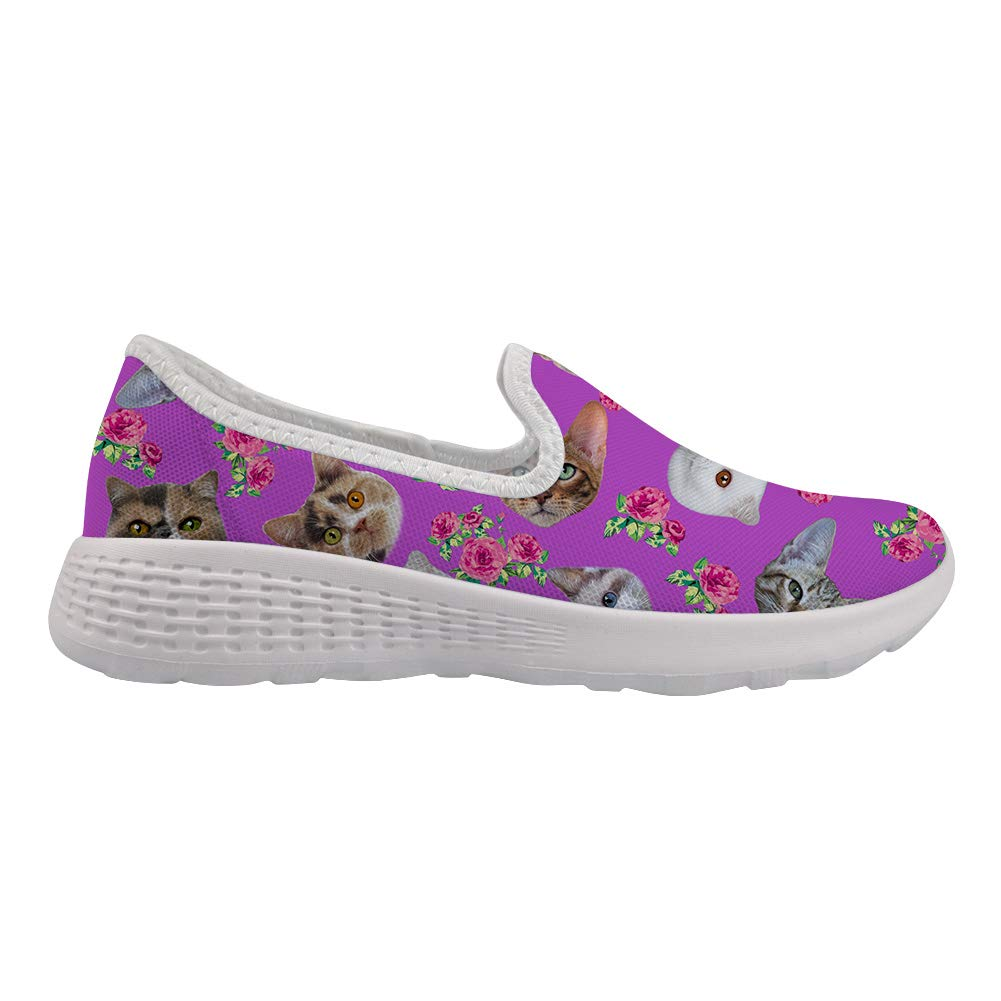 Coloranimal Softness Mesh Lightweight Slip on Beah Water Shoes for Women and Men