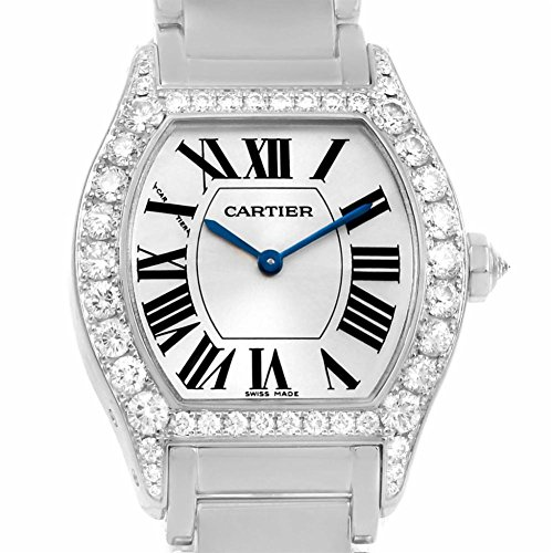 Cartier Tortue mechanical-hand-wind womens Watch WA5072W9 (Certified Pre-owned)