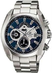CASIO 19168 EF-548D-2AV - Reloj Caballero cuarzo con brazalete metálico dial azul