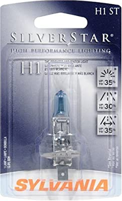 Sylvania H1 ST SilverStar High Performance Halogen Replacement Bulb, (Pack of 1)