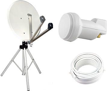 Kit de montaje por satélite de 65 cm, espejo con brazo ...