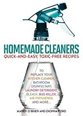 SIMPLE STEPS TO A NATURALLY CLEAN HOMEToxic chemicals are found in almost all commercial cleaners―the very products you buy to make your home hygenic and healthy. Homemade Cleaners offers a better solution. Its tips, tricks and formula...