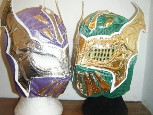 Wrestling 2 X Coloured Sin Cara Wrestling Masks ()