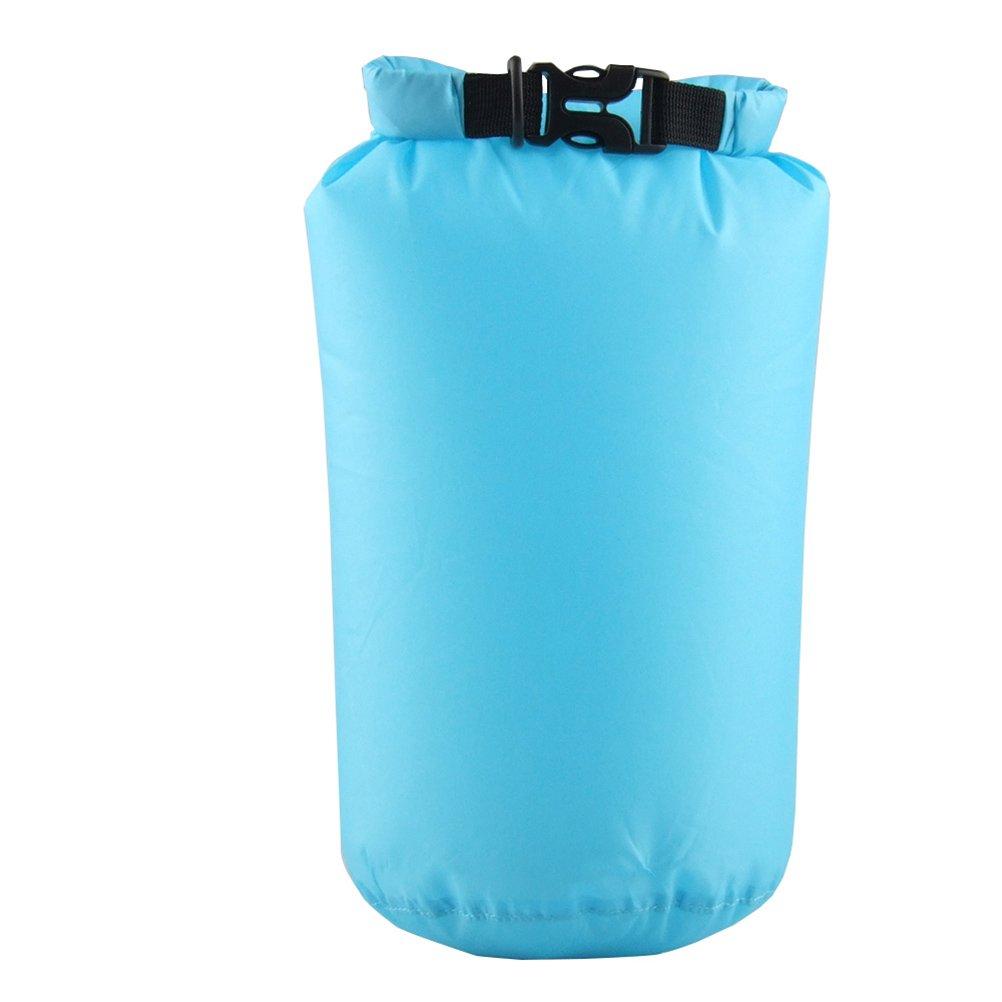 WINOMO圧縮乾燥袋15l防水バッグボート用カヌーカヤックラフティング(スカイブルー) B06XDZBZHG  スカイブルー