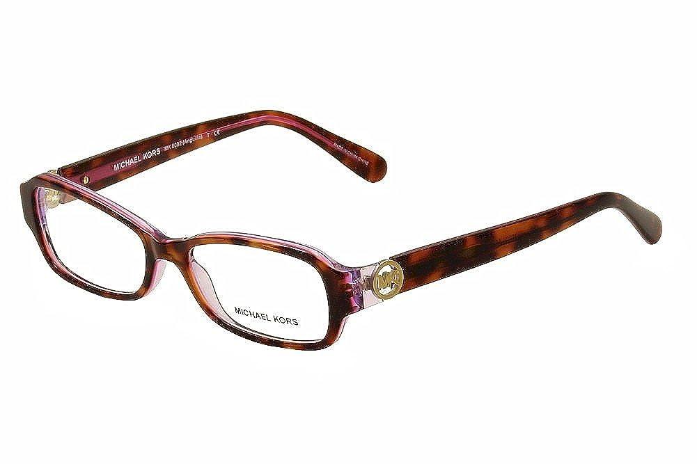 61fb8e4920 Michael Kors ANGUILLA MK8002 Eyeglass Frames 3001-52 - Black Blue at Amazon  Women s Clothing store