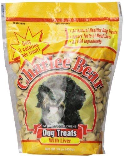 Charlee Bear Dog Treat, 16-Ounce, Liver by Charlee Bear
