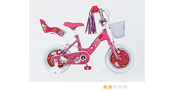 30,48 cm Hello Kitty niña rueda bicicleta infantil para bicicleta ...