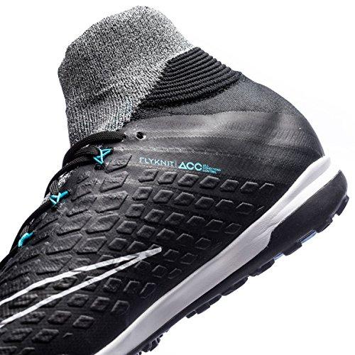 the latest 940c9 c75c3 Nike Men s HyperVenomX Proximo II DF TF Turf Soccer Shoes (Wolf Grey) 30%