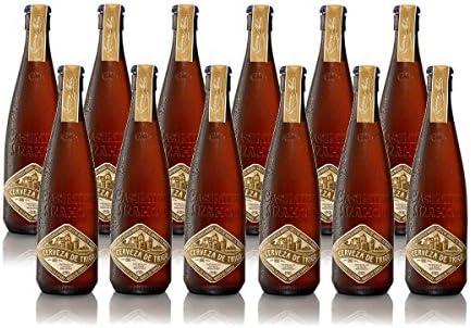 Casimiro Mahou Trigo Cerveza de Autor 4.9% Volumen de Alcohol - Pack de 12 x 37.5 cl: Amazon.es: Alimentación y bebidas