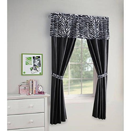 Your Zone Ruffle Girls Bedroom Curtain 42 Quot X 84 Quot Mint
