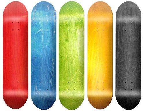 Free Skateboard Deck - 5 Blank SKATEBOARD DECK - Assorted W/ Grip Tape, Free shipping, 8