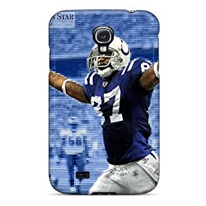 Galaxy Case - Tpu Case Protective For Galaxy S4- Indianapolis Colts