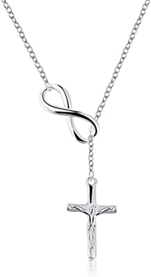 Women Silver Plated Long Chain Lariat Necklace Charm Pendant Necklace^~^