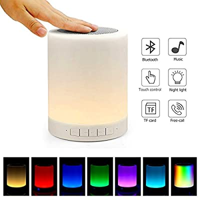 Portable Bluetooth Speakers V4.0 Wireless Speakers Stereo Subwoofer Smart Touch Speakers Color Changing …