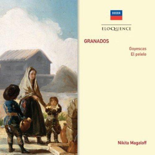 CD : Nikita Magaloff - Granados: Goyescas / El Pelele (CD)