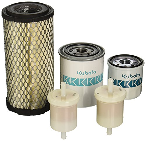 OEM Kubota Filter Kit for BX24 BX25 BX2230 BX2350 BX2360 BX2370 (Air Kubota Filter)