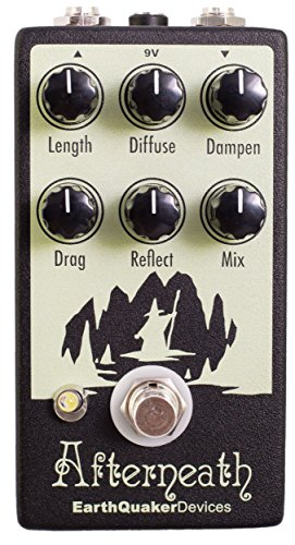 EarthQuaker Devices Afterneath V2 Reverberation Effects Pedal by Earthquaker Devices