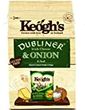 Keogh's Dubliner Irish Cheese & Onion 6 Pack Hand Cooked Potato Crisps