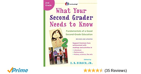 Parents Why Our Second Grader Is Not >> What Your Second Grader Needs To Know Revised And Updated