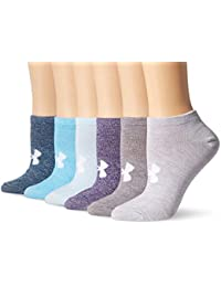Women's Essential No-Show Liner Socks (6 Pairs)