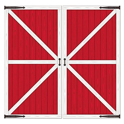 Barn Door Props Party Accessory (Value 2-Pack) by Beistle