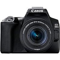 Canon EOS 200D Mark II DSLR Canon EOS 200D Mark II, Black (200DIIKIS)