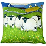 Family Album Funny Sheep Cushion Gift by Thomas Joseph by Thomas Joseph