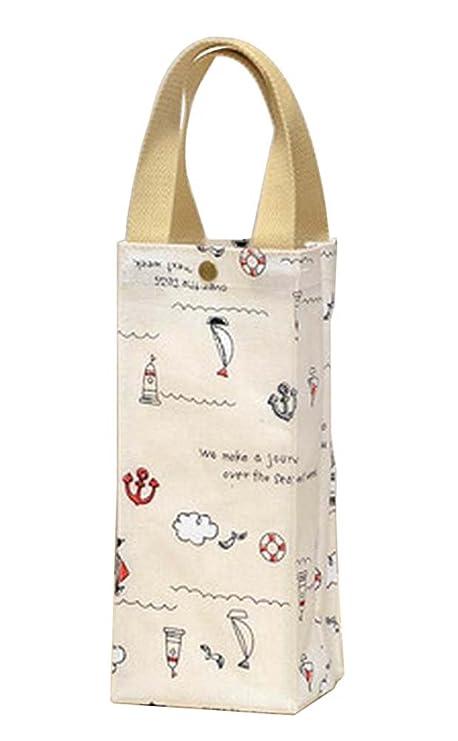 J] 2 bolsas de agua de la botella de agua la bolsa de asas ...