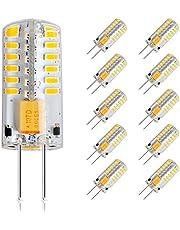 Eslas lampadine LED G4, 2700 K bianco caldo, AC/DC 12V, non dimmerabile, angolo di diffusione: 360 °