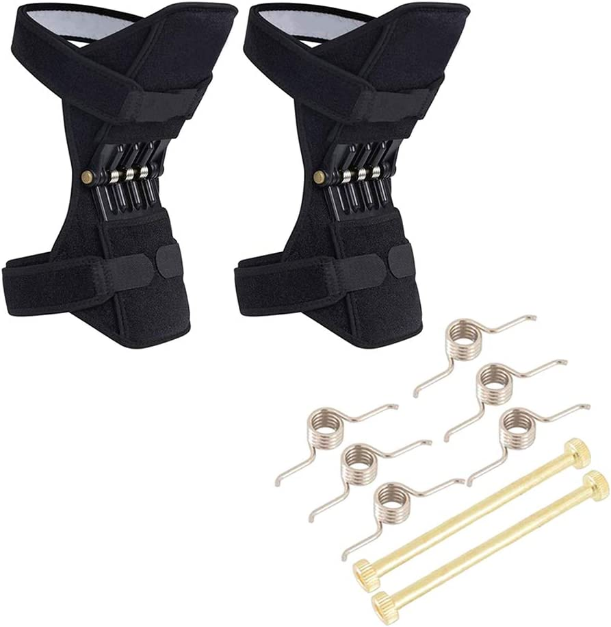 Balight 1 Pair Joint Support Knee Pads Breathable Non-slip Power Lift Joint Support Knee Pads