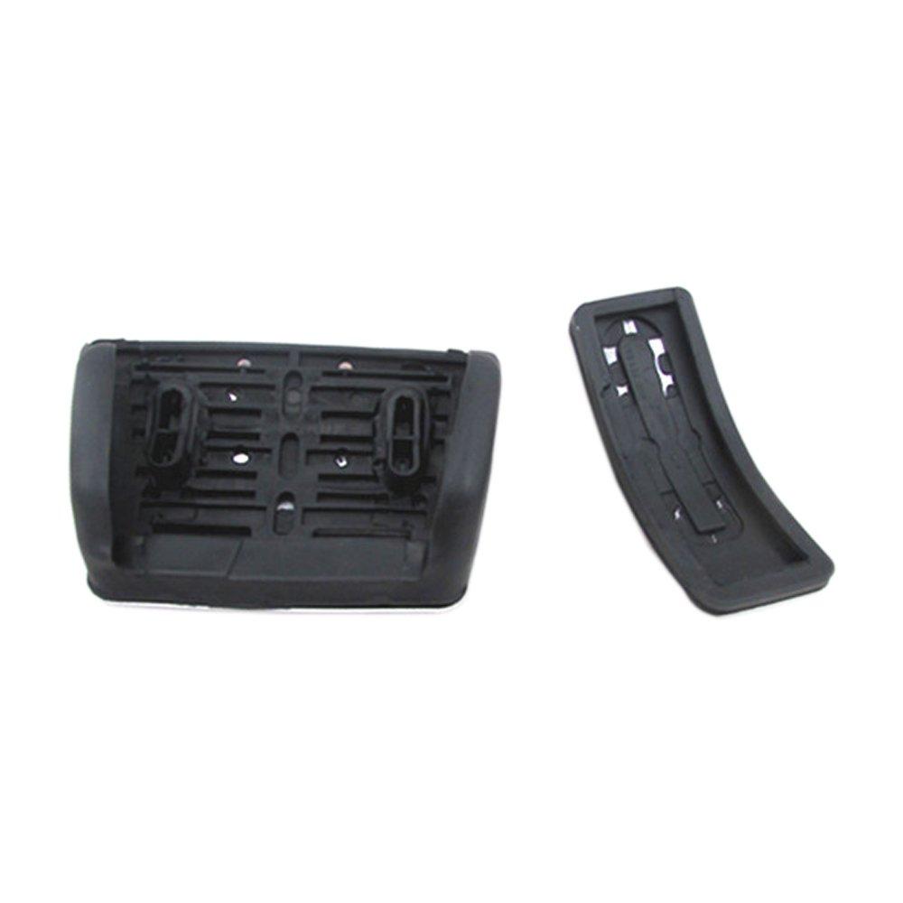 Brake Pedals for Audi A4 S4 A5 A6 Q5 S5 A7 2012 2013 2014 No Drill Gas Fuel Brake Aluminum Alloy 3 Pcs