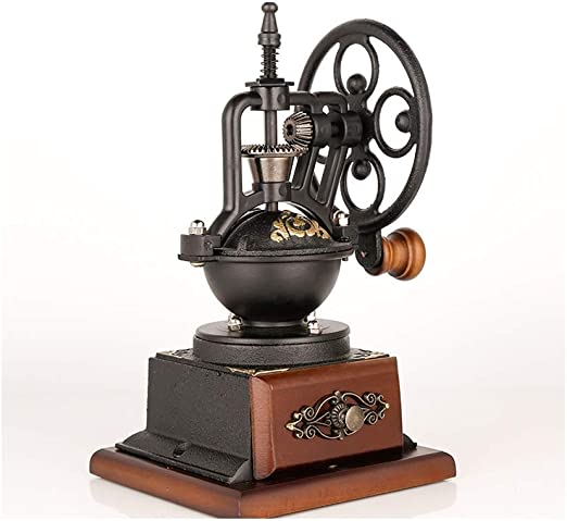 Hand Coffee Burr Mill,Manual Bean Grinder Xigeapg Manual Coffee Grinder Hand Coffee Beans Grinding Machine