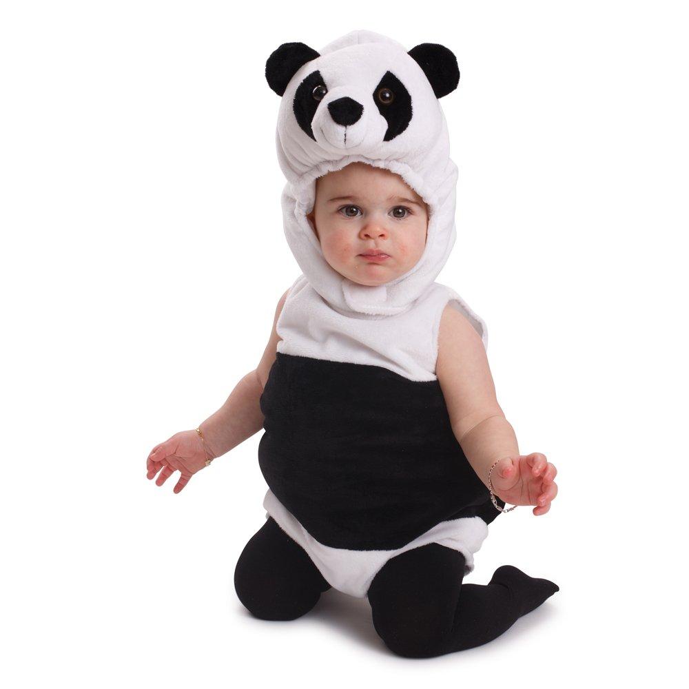 Dress Up America Kuscheliges Säugling Panda Bär Kostüm Infant Outfit Halloween-Kostüm 870-0-6