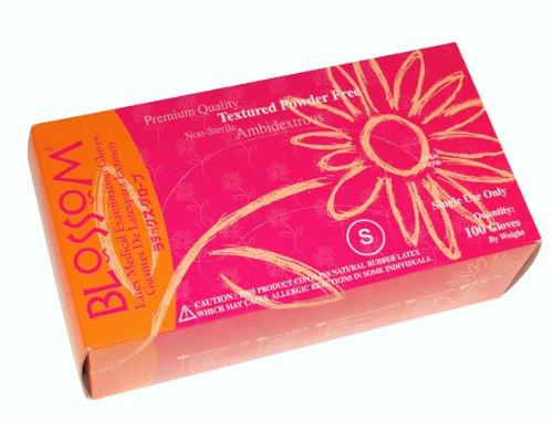 Blossom Latex Powder Free Gloves - M