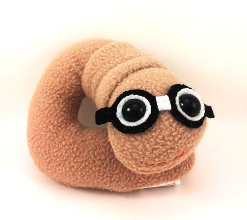 Flaky Friends: Bookworm Plush Toy Book Worm -