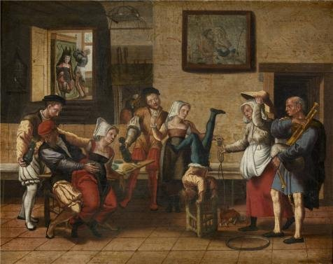 oil-painting-jan-van-amstel-pub-scene-16th-century-12-x-15-inch-30-x-38-cm-on-high-definition-hd-can