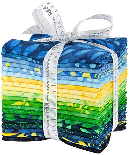Lunn Studios Artisan Batiks Sunny Day 20 Fat Quarter Bundle Robert Kaufman ()