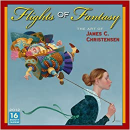 flights of fantasy 2012 wall calendar