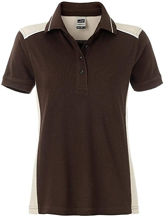 James /& Nicholson Damen Ladies/´ Polo Poloshirt