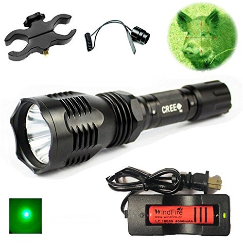 long range flashlight green - 4