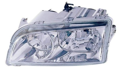 V40 Headlamp Assembly - For 2000 2001 2002 2003 2004 Volvo S40 / V40 Headlight Headlamp Assembly Driver Left Side Replacement VO2502104