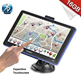 Image of Xgody 886BT Portable Car Truck GPS Navigation System Bluetooth 8GB ROM 7 Inch Capacitive Touchscreen SAT NAV Navigator with Lifetime Maps with 8GB TF Card