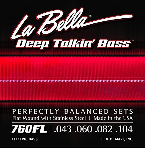 la-bella-760fl-deep-talkin-bass-flatwound-bass-strings-light