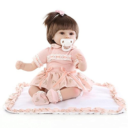 Angelwing reborn baby dolls 43 cm. baby toys soft silicone toys real touch lovely