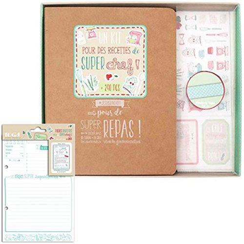 Youdoit DIY recipe binder kit + 20 cards 14 x 21 (Diy Recipe Binder)